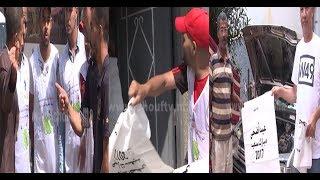 بالفيديو..بادرة رائعة للمحافظة على البيئة في عيد الأضحى ..جمعية كتفرق الميكا على ساكنة البيضاء |