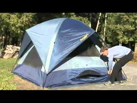Sunrise 9 Tent by Eureka! - YouTube