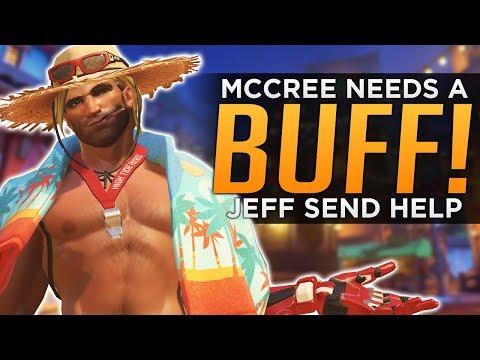 Overwatch: Why McCree NEEDS a BUFF! - Send Help Jeff!