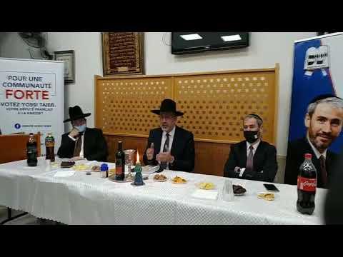 Rav Touitou et Yossi Taieb du mouvement SHASS… repond aux questions concernant la communaute Francaise