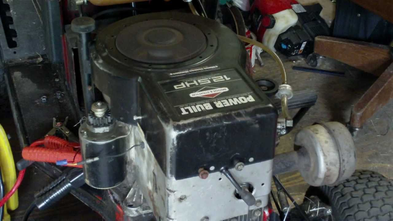 New Engine 12 5 HP Horsepower Briggs and Stratton Power