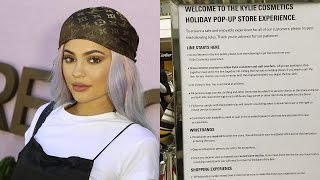 Kylie Jenner's CRAZY STRICT Rules for Her Pop Up Shop