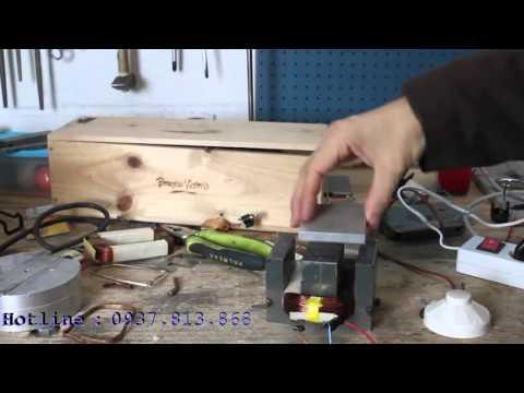 Nam châm điện tự chế và kiểm chứng sức mạnh