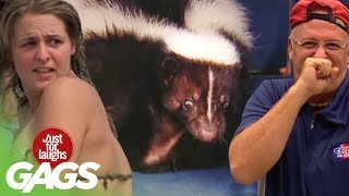 Best of Just For Laughs Gags - Best Skunk Pranks