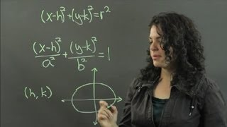 How to Compare Circle & Ellipse Equations : Measurements & Other Math Calculations