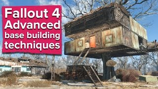 Fallout 4 - Advanced Base Building Techniques (PC gameplay)
