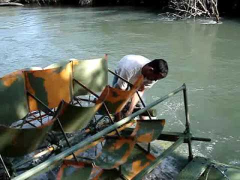 Instalação de bombas de roda d'água -- ZM Bombas -- Brasil