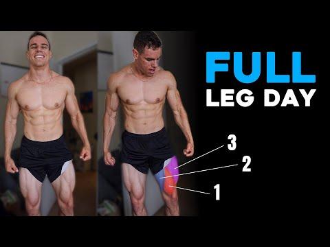 FULL Leg Workout | Day 26