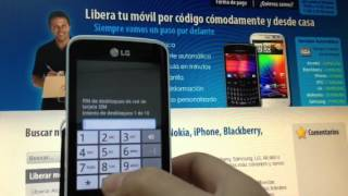 Liberar LG Optimus Hub E510 Por Código Imei Con Movical
