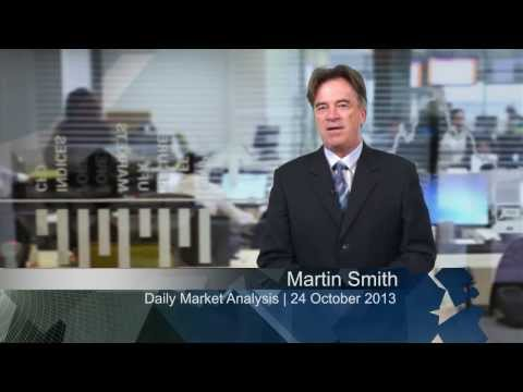 UFXMarkets Daily Forex Currency Trading News 24-October-2013