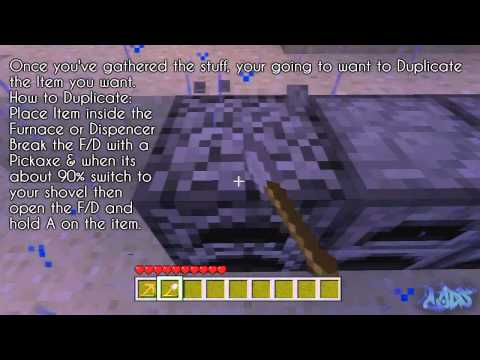 Minecraft (Xbox 360): Unlimited Items / Stacks Glitch 'After the Update 1.7.3'