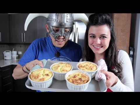 Кулинарное шоу по рецептам из игр начинается с суфле из Skyrim