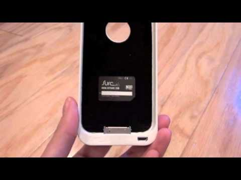 Surc How-To: Place Surc Case onto iPhone 4