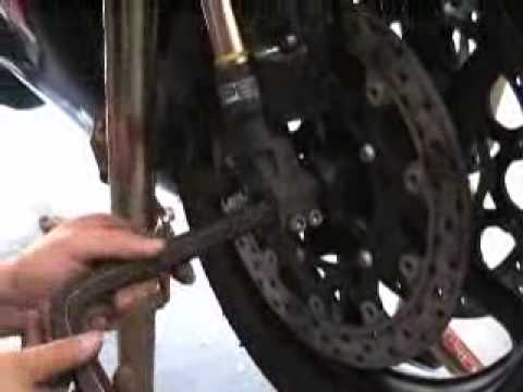 How To Remove Rear Tire On  Yamaha V Star