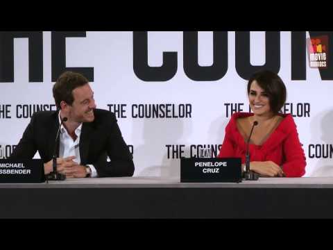 Counselor | Michael Fassbender & Penelope Cruz press conference (2013)