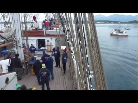 Christian Radich Bodø - Trondheim 25. juli - 1. aug. 2012