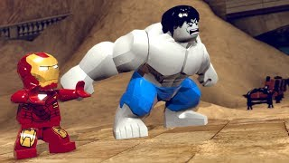 LEGO Marvel Superheroes Grey Hulk (MOD)