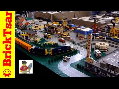 LEGO Trains at NMRA Model Train Show - BrickTsar FlashBack
