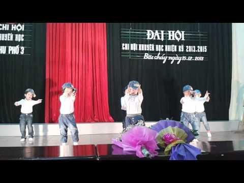 Hip hop con heo đất - lớp 4 - 5 tuổi B - trường mầm non Hoa sen Bãi cháy