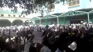 #11 Ethio Muslim Peaceful Demonstration On Apr/11/2014 at Addis Ababa Anwar Masjid
