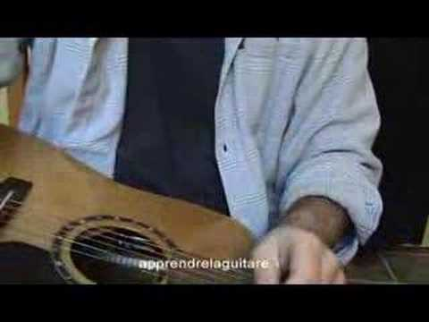 Changer les cordes d'une guitare sèche