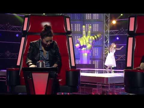 ไอซ์ พิทยารัตน์ - สีกาสั่งนาค  The Voice Kids Thailand   - 4 May 2013