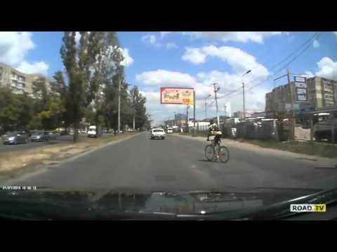Наезд на велосипедиста. Одесса