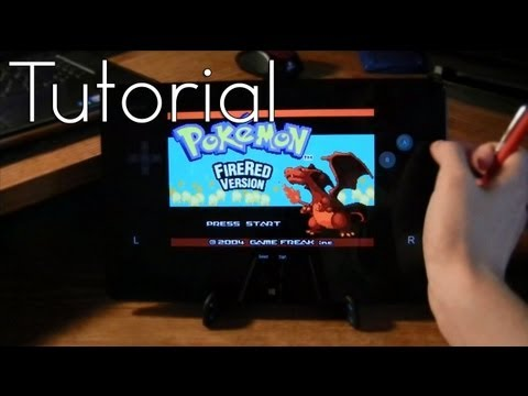 How to play gameboy games on a windows rt surface tablet tutorial