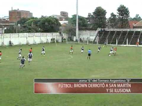 J. G. Brown (Posadas) 1 - San Martin (Fsa) 0