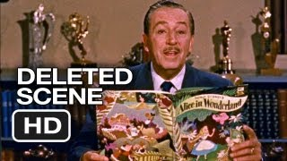 Alice In Wonderland Deleted Scene Walt Disney Intro