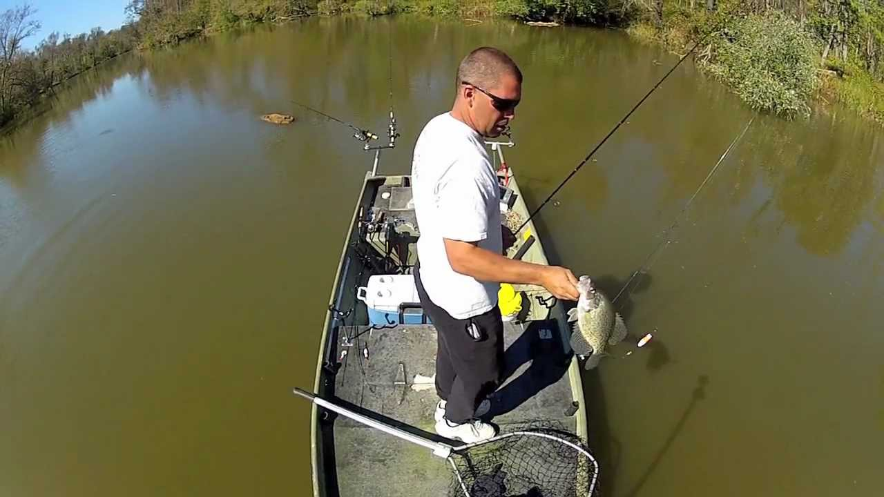 James river crappie fishing youtube for James river fishing