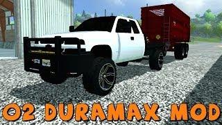 Farming Simulator 2013 2002 Chevy Duramax Flatbed Mod