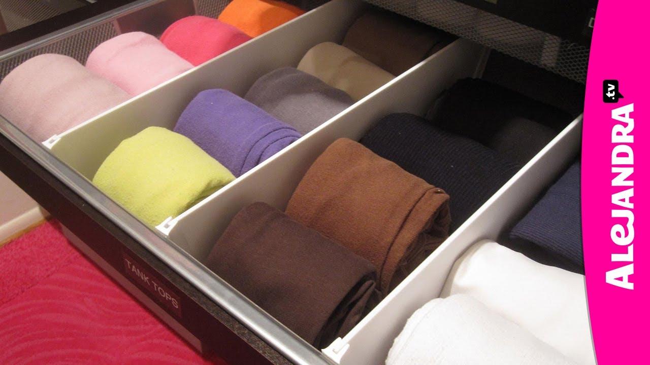 How To Organize Dresser Drawers Amp Fold Underwear Bras