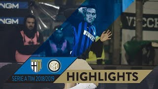 PARMA 0-1 INTER | HIGHLIGHTS | Matchday 23 Serie A TIM 2018/19 | Lautaro fires Inter back on track!
