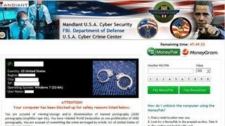 How To Remove Mandiant U.S.A. Cyber Security/FBI