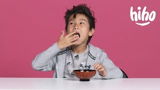 American Kids Try Snacks from Singapore & Malaysia   Kids Try   HiHo Kids