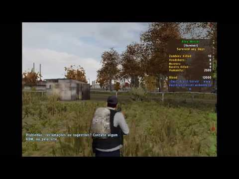 Dayz - Carros do exercito, armas fodas, PVP