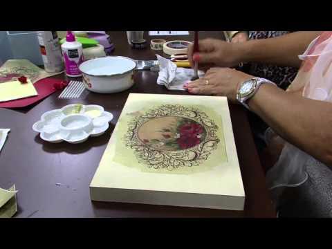 Mulher.com 07/08/2014 - Caixa Esmaltes Scrapdecor por Mamiko Yamashita - Parte 1