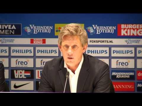 Ernest Faber tot einde seizoen hoofdcoach van PSV