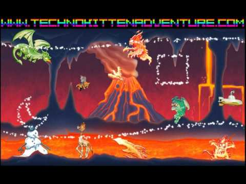 Techno Kitten Adventure-Lava Pack song