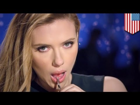Scarlett Johansson's sexy SodaStream Super Bowl commercial banned by FOX!