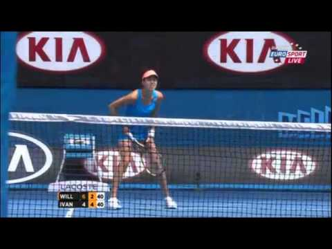 Serena Williams Vs Ana Ivanovic Australian Open 2014 Round 4