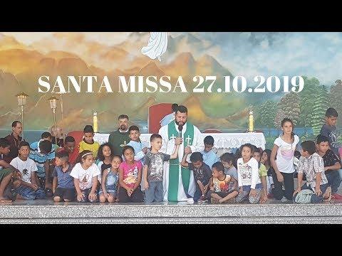 Santa Missa | 27.10.2019 | Padre Paulo Sérgio Mendes | ANSPAZ