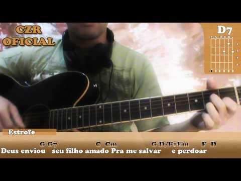 Por que Ele vive (Musica Gospel) - Aula de Violão Simplificada e Completa