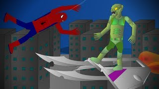 Spiderman Vs The Green Goblin