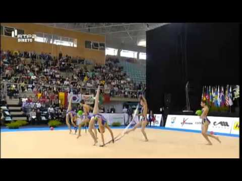 World Cup Lisbon 2014 | Spain - 3 Balls 2 Ribbons Final