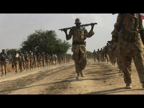 Evidence of brutal attacks litters streets of South Sudan's Bor