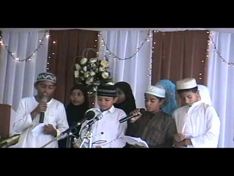 Minhaaj TV  Ronaq ul Islam Madrassah reciting Naat  Urs Ghaws 1435 H