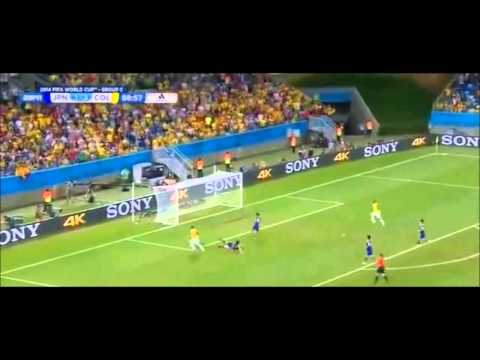 James Rodríguez Beautiful Goal x Japan | Japan 1 x 4 Colombia - World Cup 2014