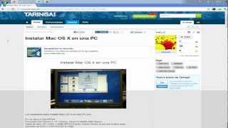 Como Descargar MAC OS X Para PC (ISO) (DVD)
